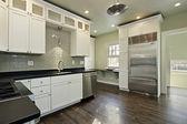 Cozinha em casa remodelada — Foto Stock