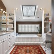 Master bath with skylight — Stock Photo #8677666