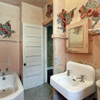 Stock Photo: Bathroom in old abandoned home