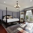 Large master bedroom — Stock Photo