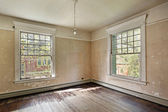 Bedroom in old abandoned home — Stock Photo