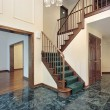 Stock Photo: Foyer in suburbtownhouse