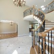 Foyer in new construction home — Stock Photo #8682161