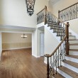 Foyer in new construction home — Stock Photo #8682178