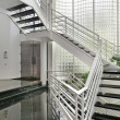 Foyer with glass walls — Stock Photo #8682219