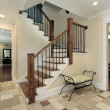 Stock Photo: Foyer in new construction home
