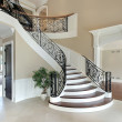 Foyer with grand staircase — Stockfoto