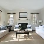 Living room in luxury home — Stock Photo #8682668