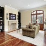 Living room in luxury home — Stock Photo #8682768