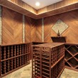Wine cellar with multiple racks — Stock Photo #8688689