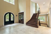 Foyer in new construction home — Stock Photo