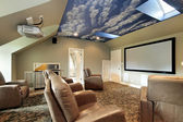 Theater with ceiling design — Stock Photo