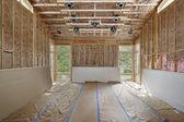 Neues Haus im Bau — Stockfoto