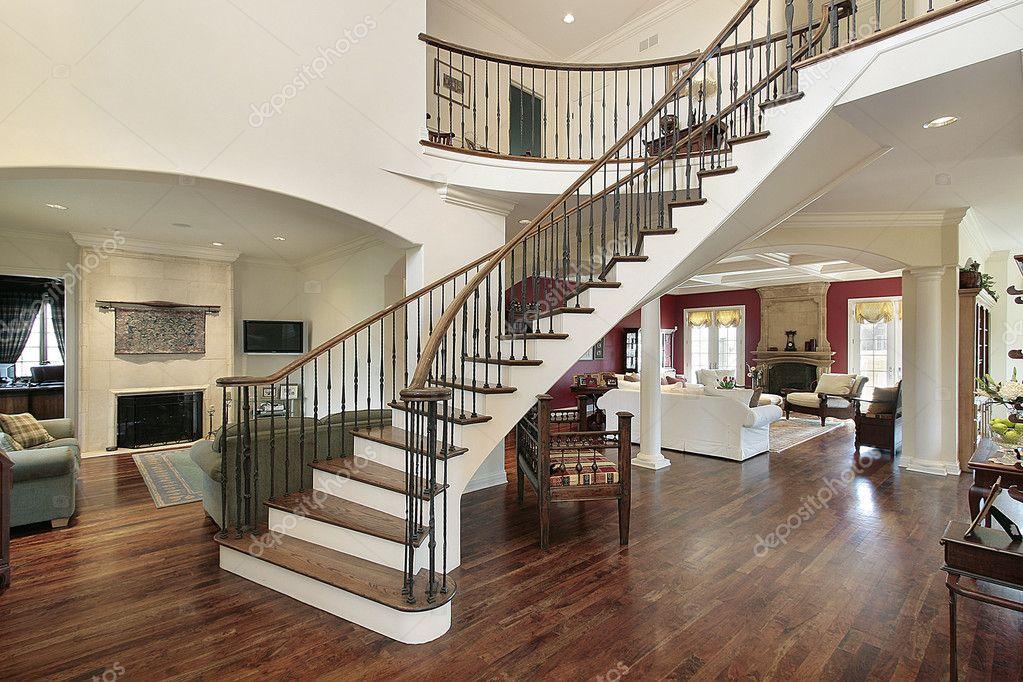 Foyer in offene grundriss — stockfoto © lmphot #8682292