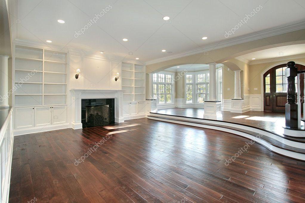 Living Room  Wooden Floor C Herry
