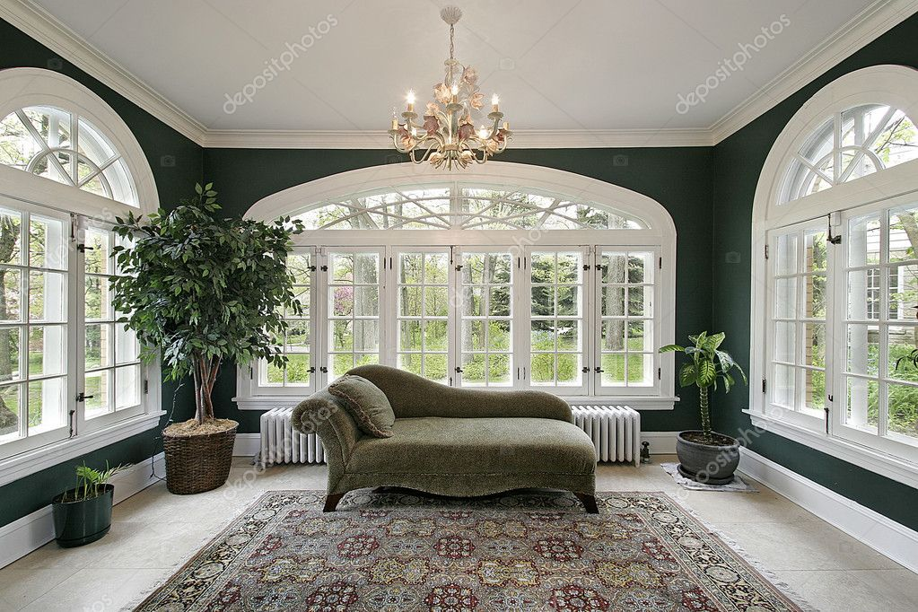 Sun Room In Luxury Home Stock Photo Lmphot 8682747