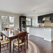 Kitchen with eating area — Stock Photo #8694885