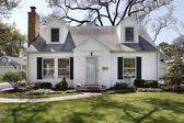 White suburban home — Stock Photo