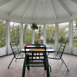 Screened in porch - Stock Photo