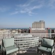 Rooftop deck with lake view — Stock Photo #8701355