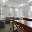Corner office in downtown building — Stock Photo #8701371