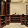 Wine cellar in luxury home — Stock Photo #8701996