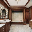Luxury master bath - Foto Stock