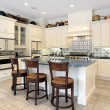 Kitchen in luxury home — Stock Photo #8702280