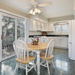 Stock Photo: Suburbkitchen with eating area