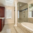 Master bath with large tub — Stock Photo #8702517