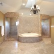 Master bath in new construction home — Stock Photo #8702566