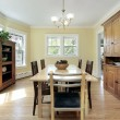Dining room in suburban home — Stock Photo #8709971