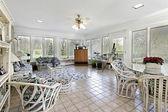 Porch in luxury home — ストック写真