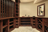 Wine cellar in luxury home — Photo