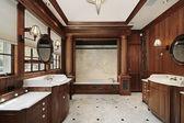 Baño principal de lujo — Foto de Stock