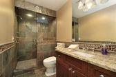 Luxury master bath — Stock Photo