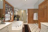 Мастер ванна в роскошный дом — Стоковое фото