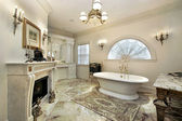 Ana banyo lüks ev — Stok fotoğraf