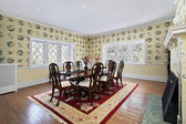 Formal dining room — Stock Photo