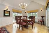 Dining room in condo — Stock Photo