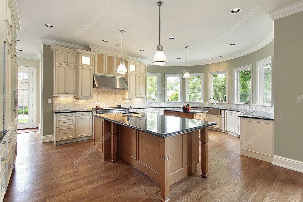 Cucina con pareti curve — foto stock © lmphot #8701405