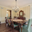 Traditional dining room — Stock Photo #8710061