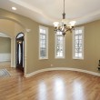 Dining room in new construction home — Stock Photo #8710088