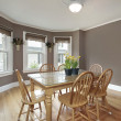 Dining room with mauve walls — Stock Photo #8710201