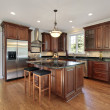 Kitchen in new construction home — Stock Photo #8716563