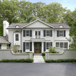 Large luxury home - Foto Stock