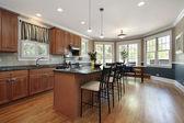 Cucina in casa di lusso — Foto Stock