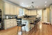 Kitchen in suburban home — Stock Photo