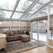 Family room with skylights — Stock Photo #8727339