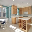 Kitchen in home for sale — Stock Photo #8727754